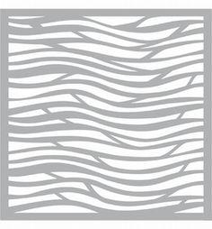 Pronty stencil: Wave1