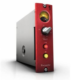 With the same circuit topology and components as the original design, the Focusrite Red 1 500-series preamp sounds just as impressive