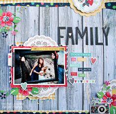 Families Stick Together - Scrapbook.com
