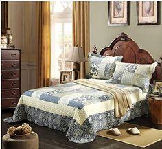 Tache 3 Piece Floral Seaside Villa Reversible Bedspread Set,King Tache Home Fashion http://www.amazon.com/dp/B00MAP39Y2/ref=cm_sw_r_pi_dp_TmK0ub0XCKK6Z