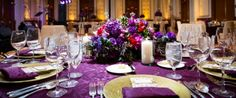 Vienna Ballroom Conrad Indianapolis Purple Linen Purple Floral Arrangement Centerpiece Purple Napkin (scheduled via http://www.tailwindapp.com?utm_source=pinterest&utm_medium=twpin&utm_content=post660817&utm_campaign=scheduler_attribution)