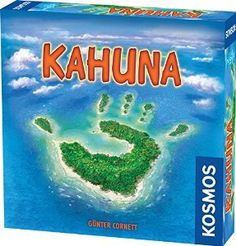 Amazon.com: Kahuna Board Game (2-Player): Toys & Games