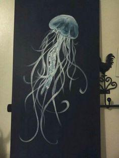 My jellyfish painting