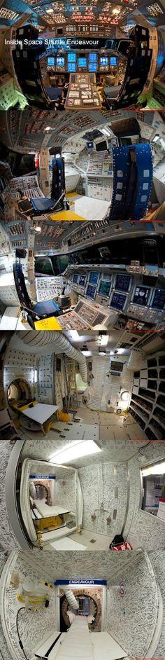 Navette spatiale Endeavour - Intérieur