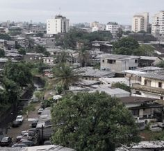 Douala, Cameroon. Not a bad place unless you leave the main streets....