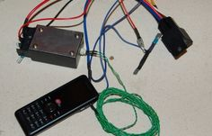 The DIY prepaid cellphone remote car starter