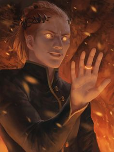 """Annatar/Sauron puts the master ring on his finger for the first time, and Galadriel and Gil-Galad go """"TOLD YOU SO"""" to Celebrimbor."""