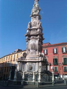 Piazza del Gesù Napoli Italy