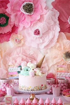 pink birthday party ideas | Wedding & Party Ideas | 100 Layer Cake