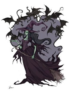 Wicked Witch by IrenHorrors on deviantART