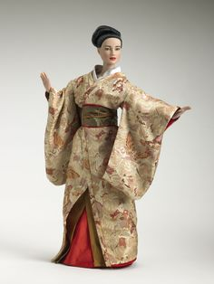 Okiya Visit - 2006 Tonner Doll Company #MemoirsOfAGeisha #MovieDolls #FashionDolls #TonnerDolls @Tonnerdoll