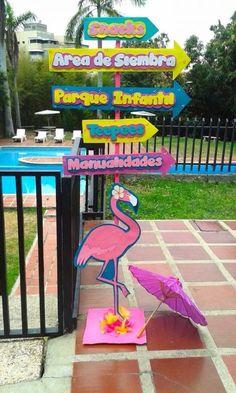 fiesta temática de flamencos indicaciones