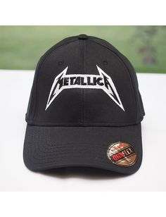 Metallica Hat - No Life Til Leather Heavy Metal Fashion, Flex Fit Hats, Metal Shirts, Metallica, Baseball Hats, Menswear, Fitness, Leather, How To Wear