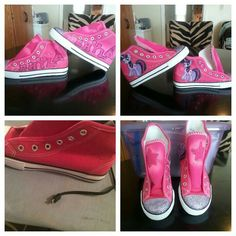 My little  pony  shoes  I did
