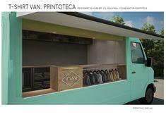 T-Shitr Van, Interior Design