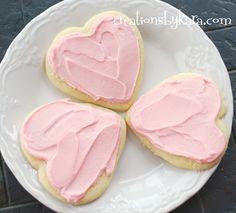 Creations by Kara: Snowman Cookies {Sugar Cookie Recipe}
