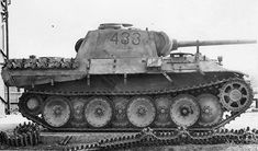 German Panther D tank