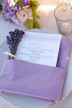 How To Style Your Wedding Napkins: 80 Ideas | HappyWedd.com