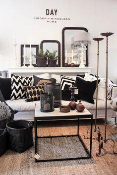 main living space color scheme