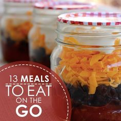 13 Healthy Meals To Eat On The Go