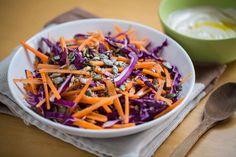 Cannoli, Vegan Vegetarian, Carrots, Cabbage, Gluten Free, Salad, Tahini, Vegetables, Cooking