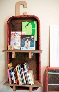 Little Red Wagon Book shelf