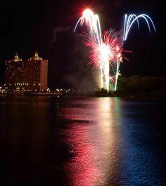 4th of July on River Street, Savannah, GA