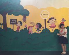 Mural at Sekolah Kembang. By @curart.id