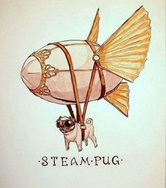 All hail Steam Pug!   http://ift.tt/1T8X9Qh via /r/funny http://ift.tt/1Xzg9bU  funny pictures