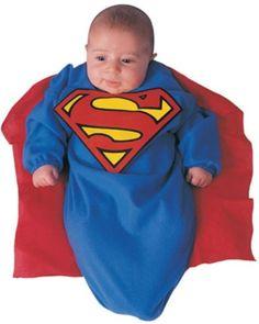d3b8c875a3ef DC Comics Superman Baby Bunting Costume Superman Print