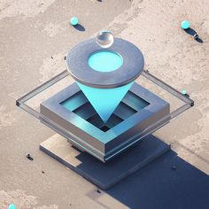 Friedrich Neumann on Behance Shape Design, 3d Design, Isometric Art, Geometric Graphic, 3d Texture, 3d Artwork, Abstract Shapes, Cinema 4d, Motion Design