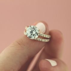 Jaw dropping Rose Gold Wedding Set! The Hayley Wedding Set - #rosegoldeverything