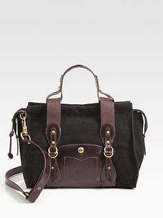 UGG Australia Suede & Leather Doctor Bag