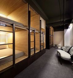 Pod hotel. Vintage, modern, luxury or eclectic hotels. Wich are you favourites? See some decor tips for your own interior projects, here: http://www.pinterest.com/homedsgnideas/