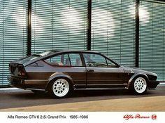 Perfect Alfa GTV6 GP shows the German stripes so well
