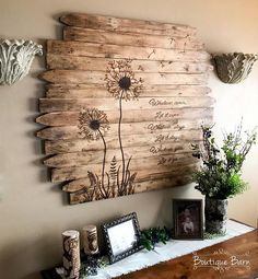 Löwenzahn Wand Kunst große quadratische Blume Holz Pictur - Tiny Haus Familie Idee - Dandelion Wall Art Large Square Flower Wood Picture Rustic Reclaimed Wood Country Home Farmhouse Decor Bedroom Dining Family Room Löwenzahn … - Reclaimed Wood Wall Art, Rustic Wall Art, Rustic Walls, Wood Art, Wall Wood, Diy Wood, Rustic Decor, Country Decor, Wood Burning Crafts