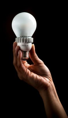 Cree LED bulb for marketing