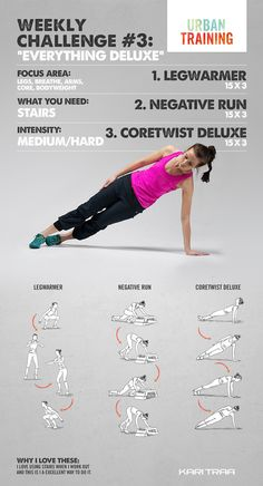 Weekly challenge # 3 - This week we are going to do a full body workout! Do a circle with these exercises and crush out as many reps as you can….