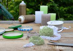 halbachblog I DIY I Kerzenuntersetzer I Baumwollspitze I Anleitung I Materialien