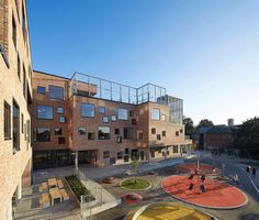 Vision Frederiksbjerg School is the first new-built school located in the center of Aarhus, the second largest city in Denmark, in approximately 100..