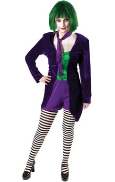 female joker costume its offical im being the joker - Joker Halloween Costume For Females
