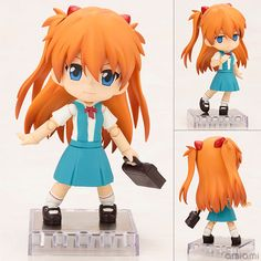 AmiAmi [Character & Hobby Shop] | Cu-poche - Rebuild of Evangelion: Asuka Langley Shikinami Posable Figure(Pre-order)