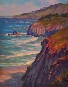 Incoming Tide 11x14 Pastel, painting by artist Joe Mancuso