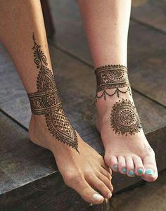 Male & Female henna tattoo