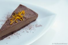 Raw Vegan Chocolate Orange Cake | Easy Vitamix Dessert Recipes | Healthy Blender Recipes