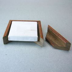 Simple L or Float Frames for Miniature Canvas Paintings: Measure and Cut the Pieces for Your Floating Picture Frame