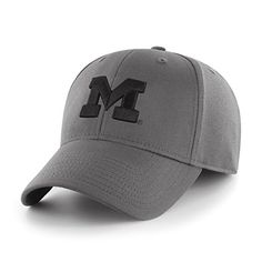 separation shoes aff7b 00675 NCAA Michigan Wolverines Comer OTS Center Stretch Fit Hat, Charcoal,  Medium Large