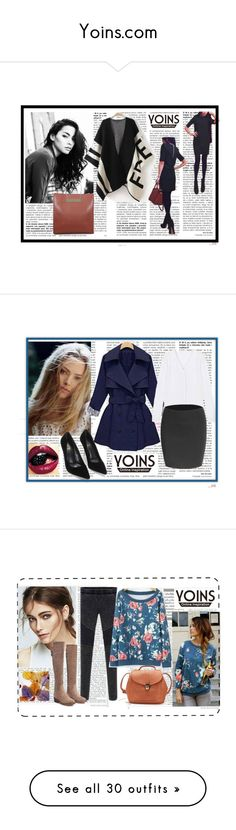 """""""Yoins.com"""" by azraa91 ❤ liked on Polyvore featuring MustHave, fall2015, yoins, мода, Oris, ASOS, Anastasia Beverly Hills, vintage, Christian Dior и GE"""