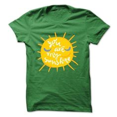 You are my sunshine - #gift ideas #gifts for guys. LOWEST PRICE => https://www.sunfrog.com/Faith/You-are-my-sunshine-67846889-Guys.html?68278