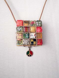 Vintage Peace Necklace Jewelry